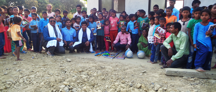 Distributing Educational Items to Children