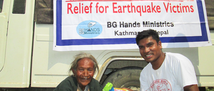 Providing Relief to People in Need