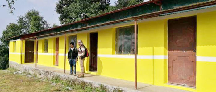 School Building Build by BG Hands Ministries